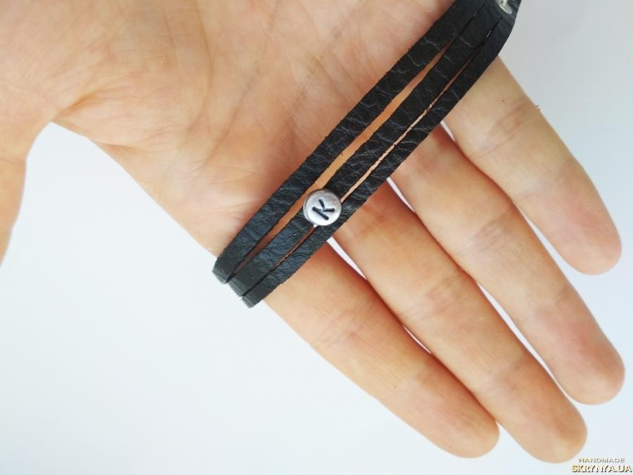 тут изображено Кожаный (замшевый) браслет ′Katie′