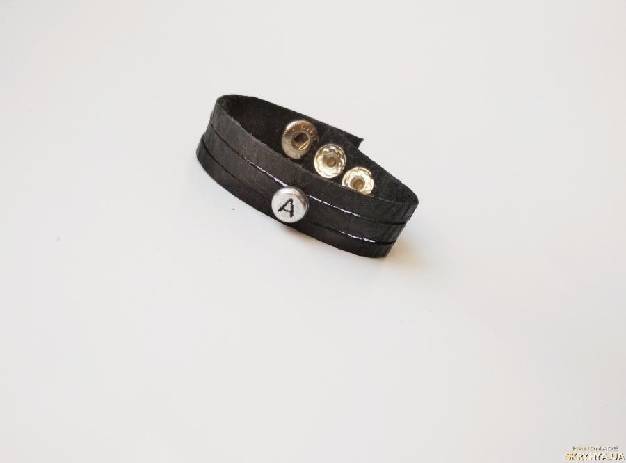 тут изображено Кожаный (замшевый) браслет ′Annette′