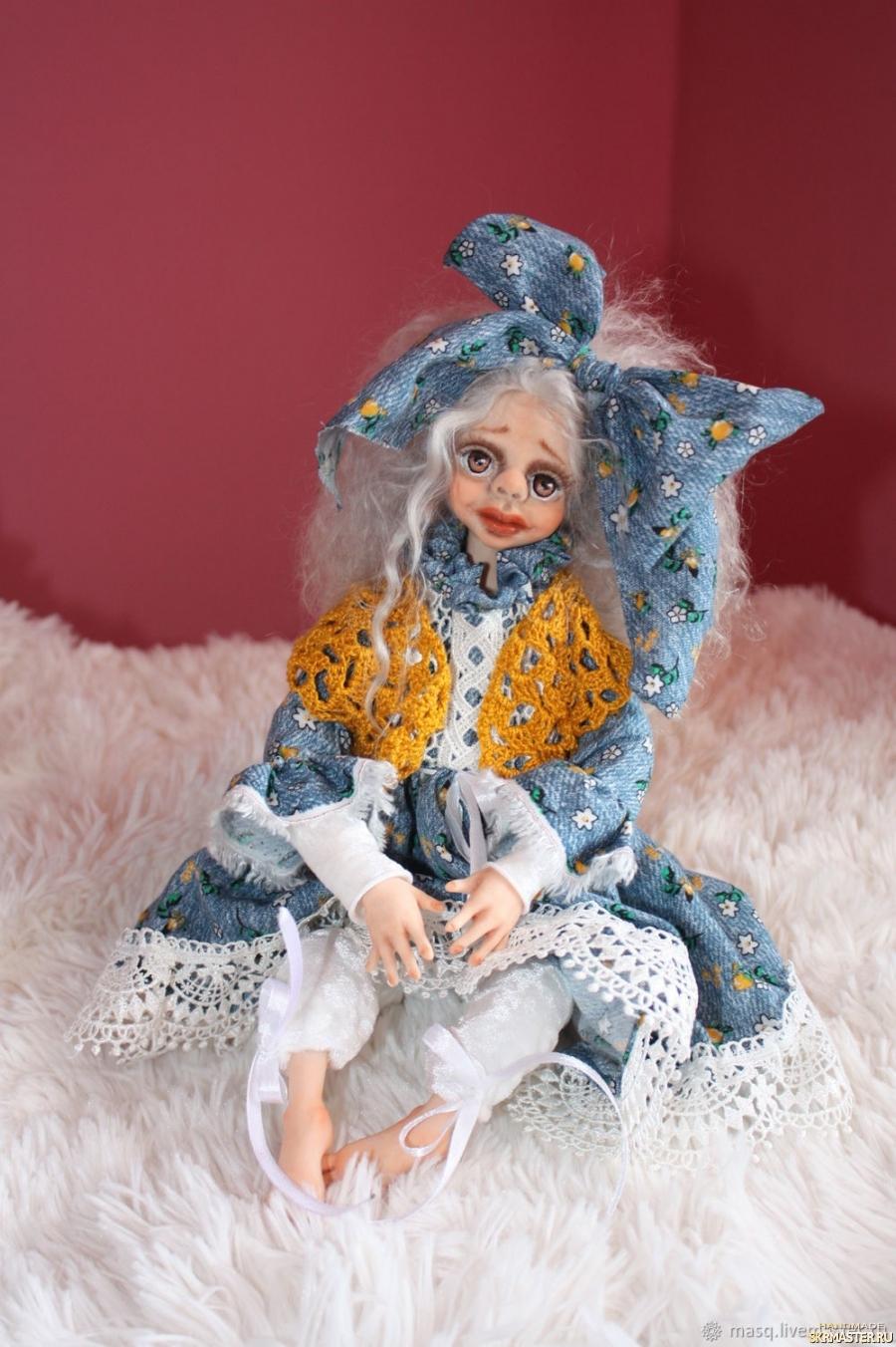 тут изображено Авторская кукла Лили