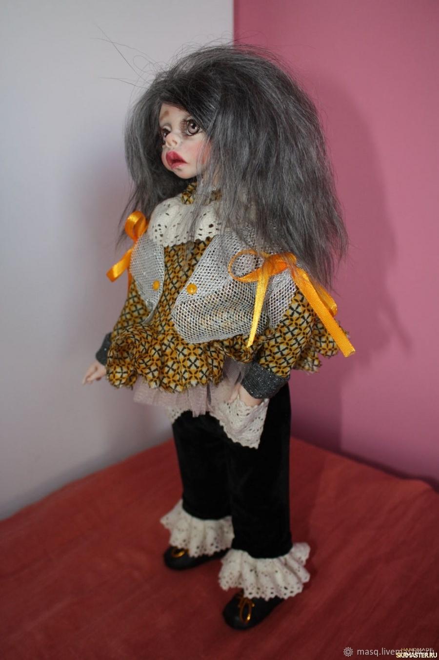 тут изображено Авторская кукла Белла