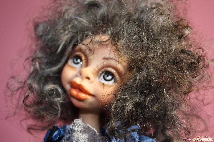 тут изображено Авторская кукла Тереза
