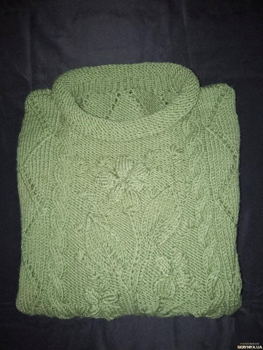 тут изображено Женский свитер