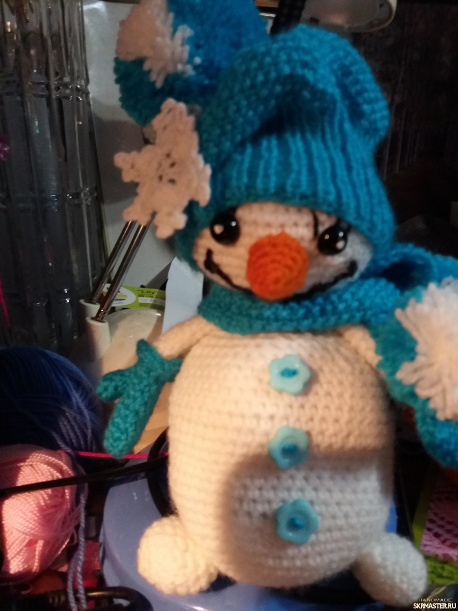 тут изображено Снеговик.