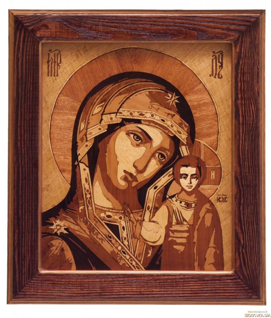 тут изображено Икона греческая Божией Матери Казанская
