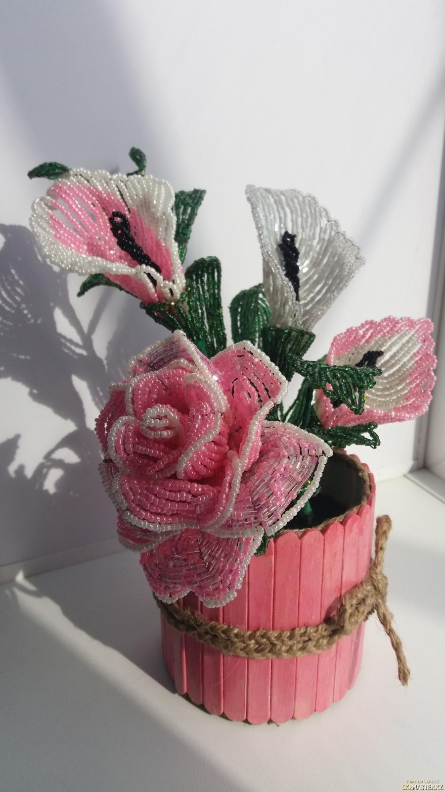 тут изображено Розовая нежность