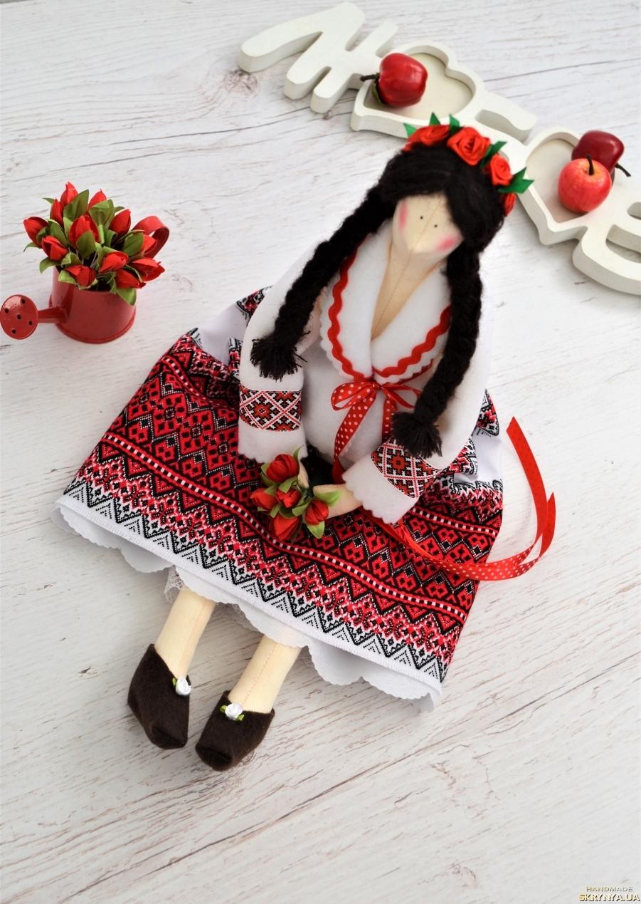 тут изображено Тильда украиночка